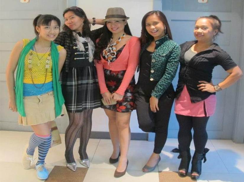 officemates, ready to party!