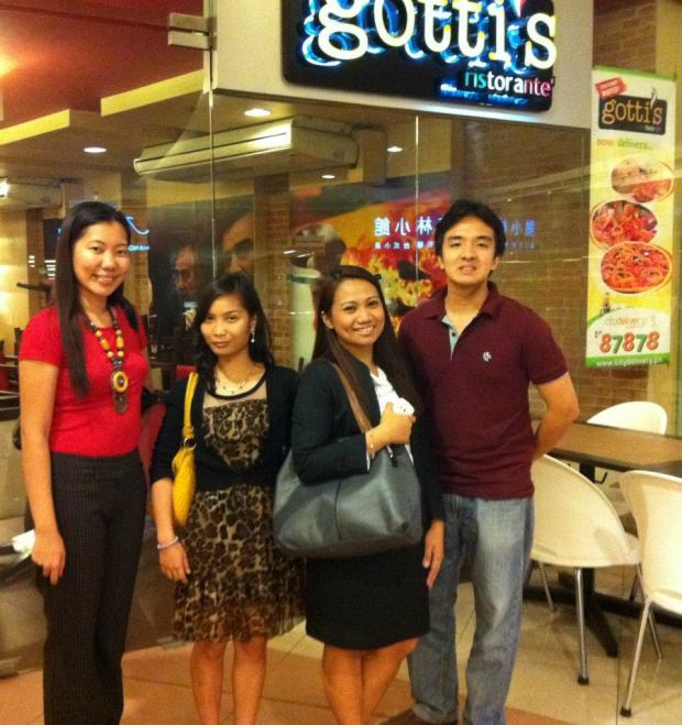 My birthday treat with JL friends Des, Mabs and Gelo at Gotti's