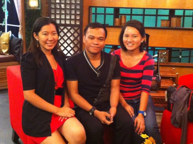 with Donna and Sir Alto