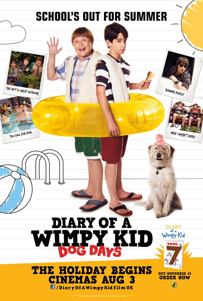 Yes I'm still a kid at heart and I enjoy Diary of A Wimpy Kid-either  in the books or cinema