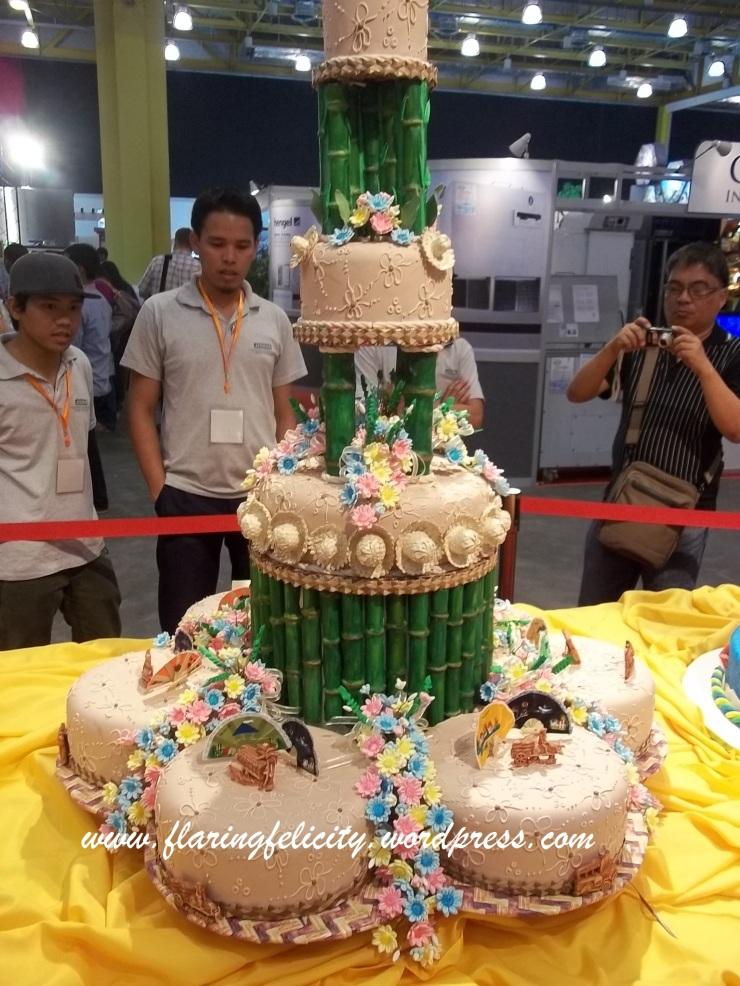 hats and bamboos symbolizes hardworking and pliant Filipinos