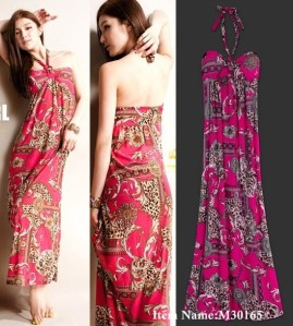 Maxi Dress with Fun Prints