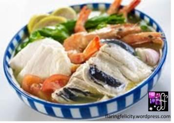 My favorite: Seafood Sinigang Sa Miso