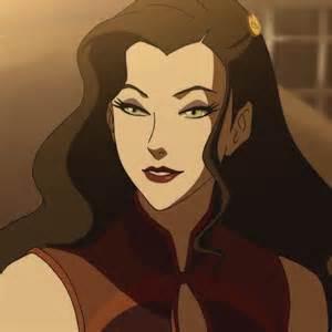 Imagine me as Asami (Legend of Korra)