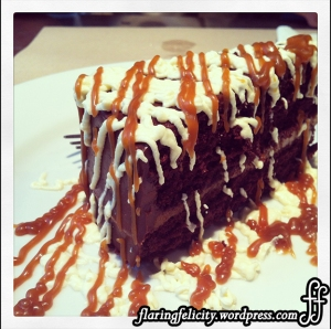Sweet Nothings - Chocolate cake the classic way, moist, rich and sinful to satisfy your sweet tooth Php100