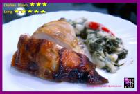 "I love ""Laing"" served as side dish to Floring's Grilled Chicken"