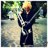 Most cosplayers show their artistry through weapons. It takes skilled craftsmen to make one of those.