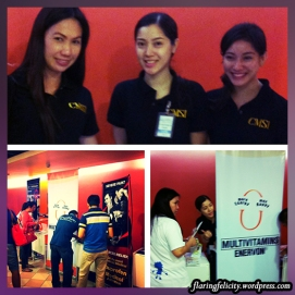 Get free unilab vitamins and from these charming and friendly promo girls :)