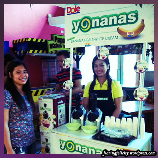 Try fresh yummy banana ice cream from Yonanas! You can also buy their blender which turns any fruit into ice cream in an instant!