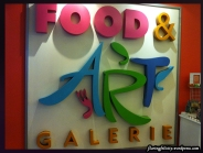 Food and Art Gallery is located at the 12th Floor of GT Tower Ayala Avenue corner Dela Costa, Makati City. Aside from food stalls offered on weekdays for employees, you can also view artworks and paintings for sale.