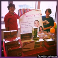 Meet Ate Eva and Ate Chit from Children's Joy foundation. Buy their products and help their ministries, too.