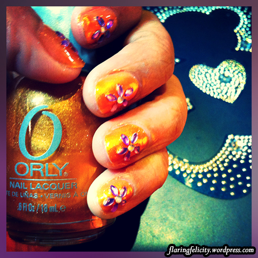 Gazing at this nail art will give me joys the whole week!