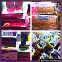 These products are for sale for the benefit of Children's Joy Foundation, Inc. Bought one of those banana cakes for one hundred pesos!