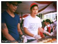 Meet and work alongside other volunteers. Everyone gets to work harder between 12nn-2pm (lunch) and dinner time!