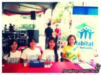 The girl in charge of registration. (The one wearing yellow is me!)