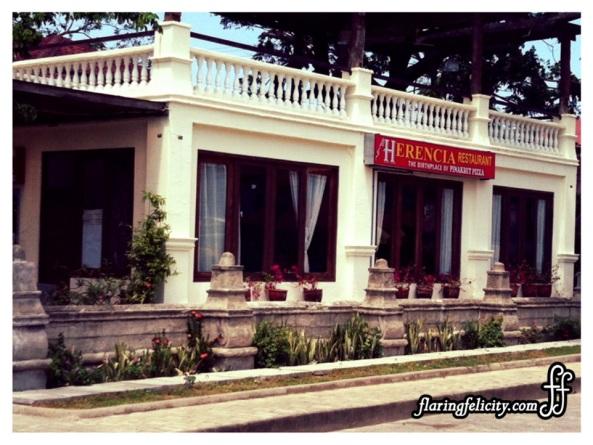 Herencia Restaurant, Ilocos Norte