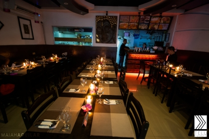 Bangkok Cafe at Pearl Drive Ortigas was the perfect venue for the Thai themed event