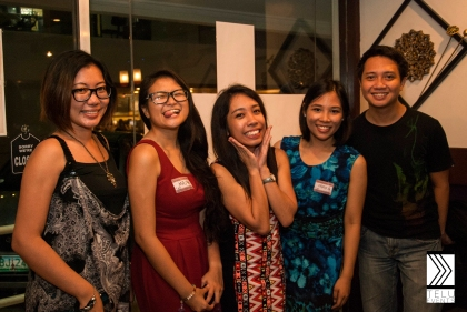 Organizers with bloggers Jonah Chipeco (Flaring Felicity) and Pepi De Leon of kampeonngpagibig.com/