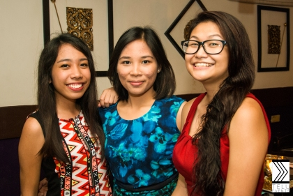 Meet the ladies behind Telu: Irene, Darika and Maiah. Cheers!