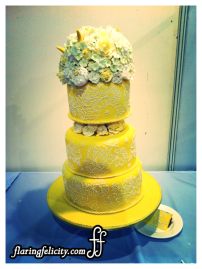 White and yellow cakes are in!
