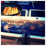 Tasty Norweigian salmon