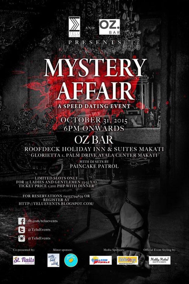 Mystery Affair Telu Events