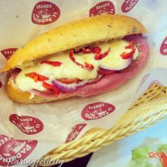 Il Padrino Italian Sausage Sandwich