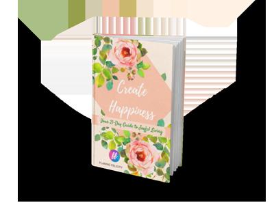 Create Happiness Ebook Mockup